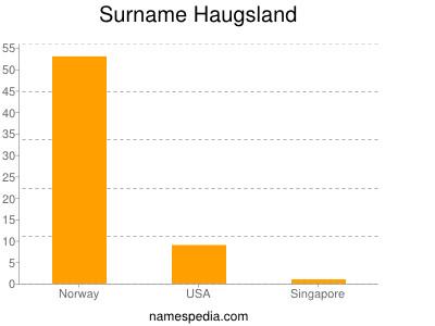 Familiennamen Haugsland