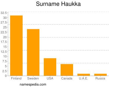 Surname Haukka