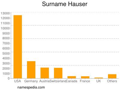 Familiennamen Hauser