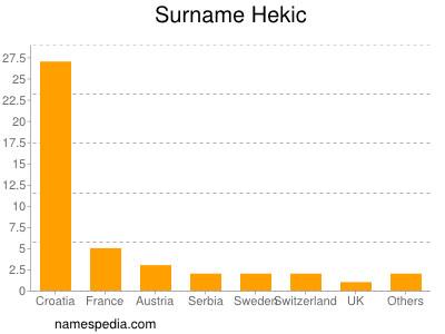 Surname Hekic