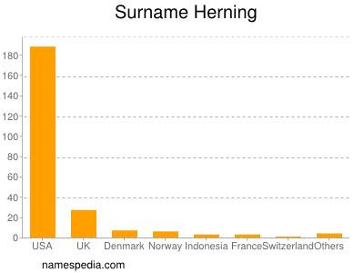 Surname Herning