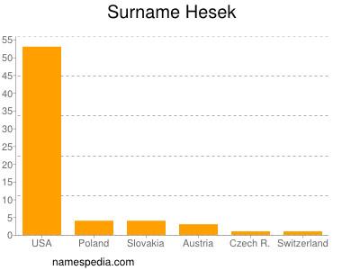 Surname Hesek