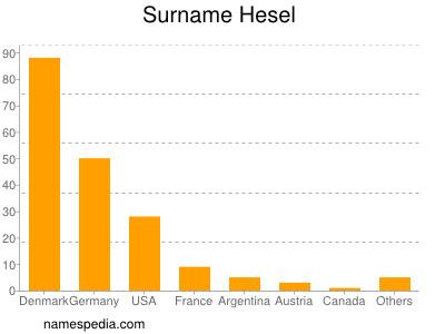 Surname Hesel