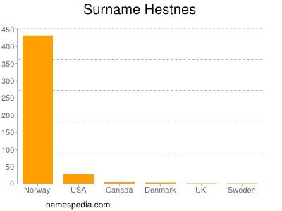 Surname Hestnes