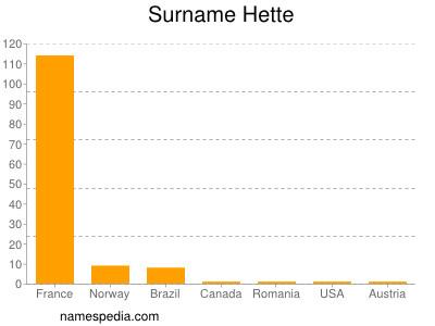 Surname Hette