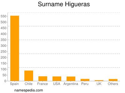 Surname Higueras