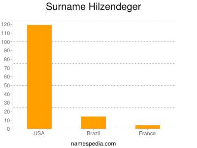 Surname Hilzendeger