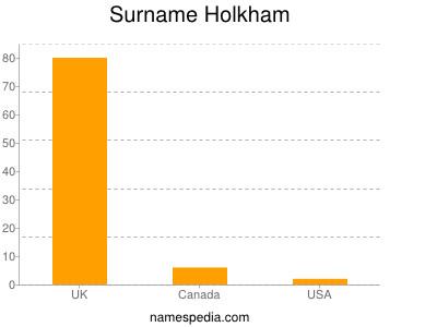 Surname Holkham