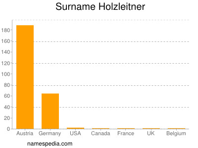 Familiennamen Holzleitner