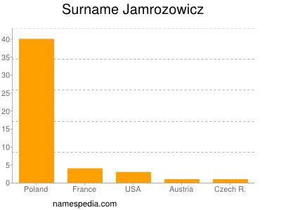 Surname Jamrozowicz
