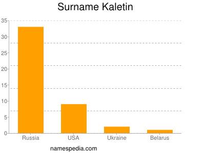 Familiennamen Kaletin