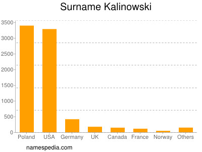 Surname Kalinowski