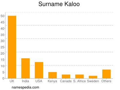 Surname Kaloo