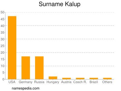 Surname Kalup