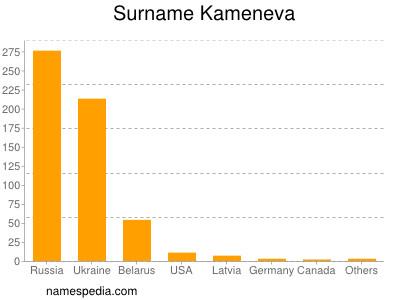 Surname Kameneva