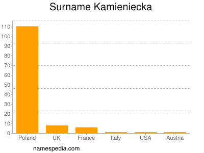 Surname Kamieniecka