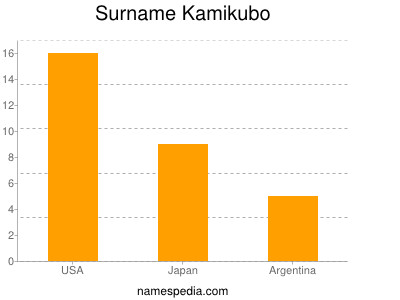 Surname Kamikubo