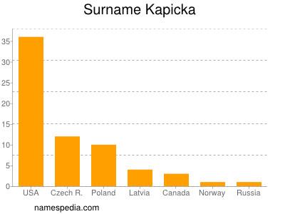 Surname Kapicka
