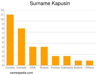 Surname Kapusin