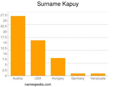 Surname Kapuy