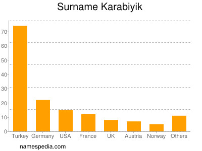 Surname Karabiyik