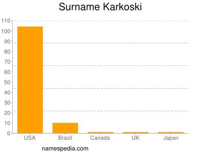 Surname Karkoski