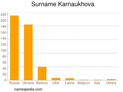 Surname Karnaukhova