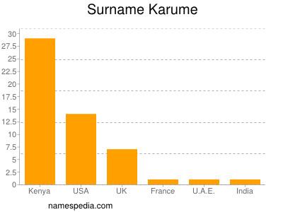 Surname Karume