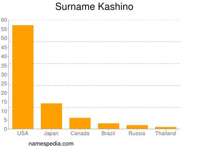 Surname Kashino