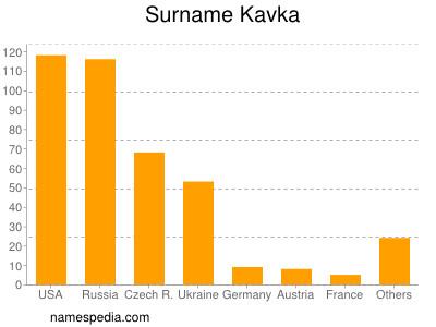 Surname Kavka