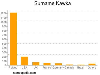 Familiennamen Kawka