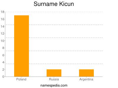 Surname Kicun
