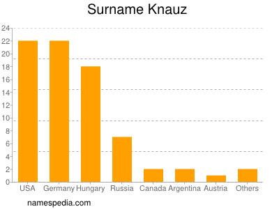 Surname Knauz