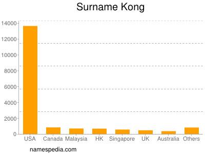 Surname Kong