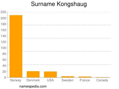 Surname Kongshaug