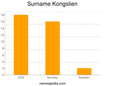 Surname Kongslien