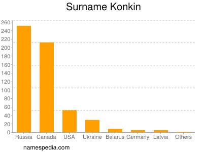 Surname Konkin
