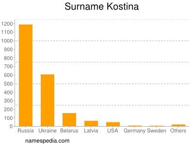 Familiennamen Kostina