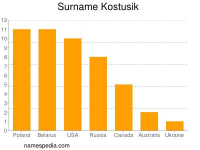 Surname Kostusik