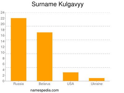 Surname Kulgavyy