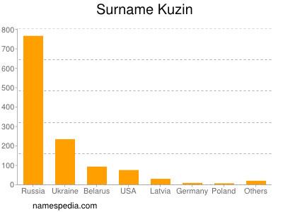 Surname Kuzin