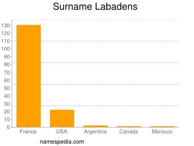 Surname Labadens