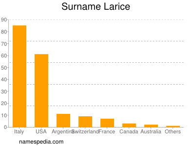 Familiennamen Larice