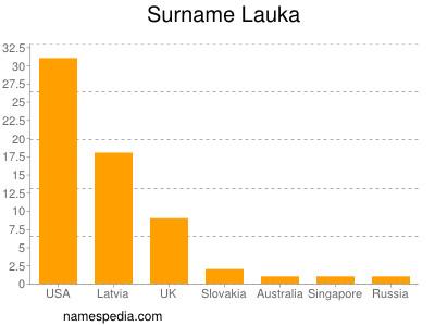 Surname Lauka