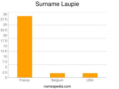 Surname Laupie