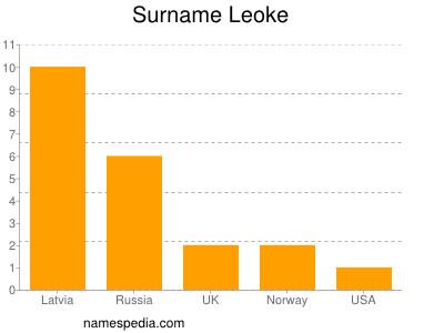 Surname Leoke