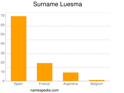 Surname Luesma