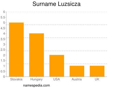 Surname Luzsicza