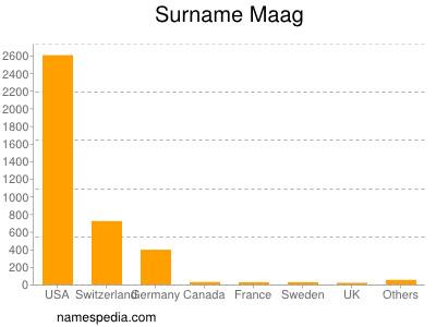 Familiennamen Maag