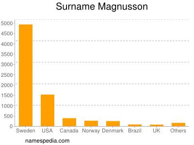 Surname Magnusson